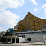 Berliner philharmonie am Kulturforum, la Philharmonie de Berlin sur le Kulturforum