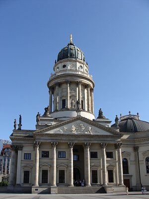 visite de berlin monuments de berlin edifices religieux eglise allemande deutscher dom la. Black Bedroom Furniture Sets. Home Design Ideas