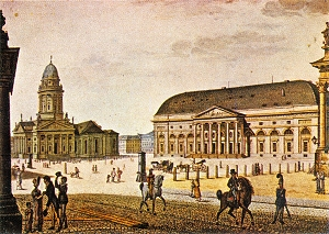 Gendarmenmarkt in 1815