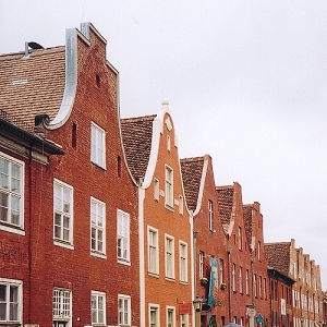 Holländisches Viertel, le Quartier hollandais à Potsdam