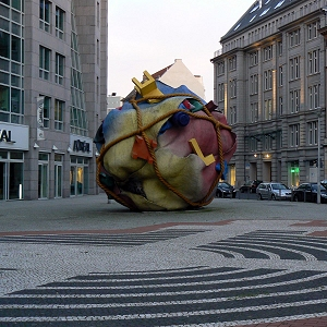 Houseball, Claes Oldenburg et Coosje van Bruggen